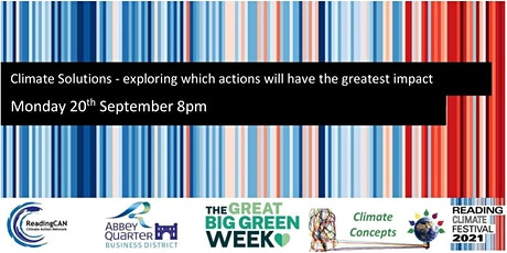 Climate Solutions - exploring which actions will have the greatest impact tickets