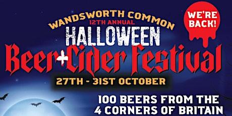 Wandsworth Common Halloween Beer Festival 2021 tickets