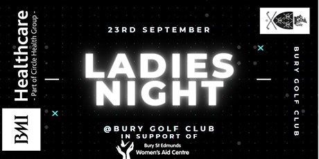 Ladies Night at Bury Golf Club with BMI St. Edmunds tickets