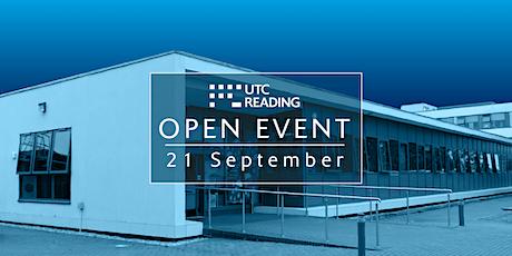 UTC Reading Open Evening  - Tuesday 21 September 2021 tickets
