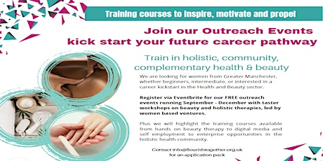 Career Pathways in Holistic Health, Wellbeing & Beauty tickets
