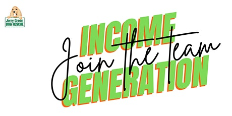 Income Generation Recruitment - Jerry Green Dog Rescue tickets