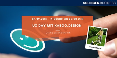 User Experience Tag mit Kaboo.Design Tickets