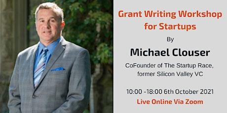 Grant Writing Workshop for Innovative UK Startups biglietti