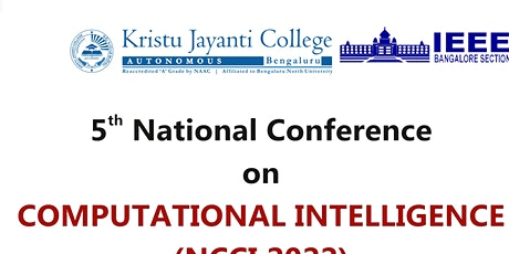 National Conference on Computational Intelligence (NCCI 2022) tickets