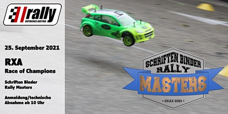 Rally/RXA, Race of Champions in Graz - Schriften Binder Rally Masters Tickets