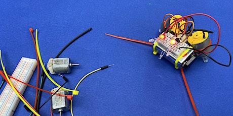 Mini-Roboter bauen (Zwei-Tages-Kurzworkshop) (Ferienkurs 6) Tickets