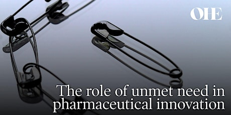 The role of unmet need in pharmaceutical innovation entradas