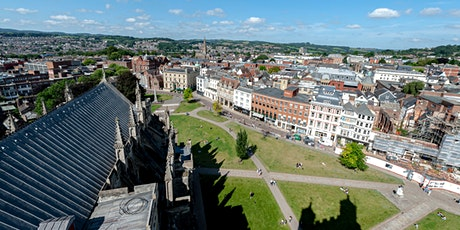 Walking with Cameras - Exeter Cathedral Rooftop Tour & Photo-walk tickets