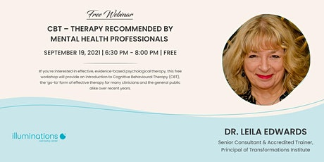 Free Webinar: Cbt – Therapy Recommended By Mental Health Professionals tickets