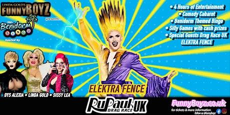 FunnyBoyz London presents Drag Race UK's ELEKTRA FENCE tickets