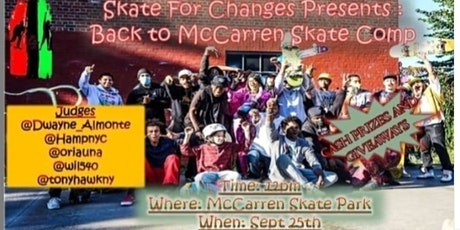 Back To McCarren Skate Competition tickets