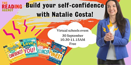 Build your self-confidence with Natalie Costa! School event tickets