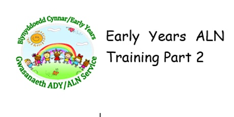 Early Years ALNET Part 2 tickets