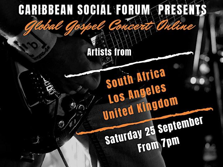 Global Gospel Concert Online image