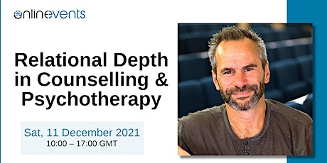 Relational Depth in Counselling and Psychotherapy - Mick Cooper tickets