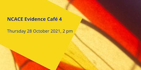 NCACE Evidence Café 4: Evidence from KEF Narratives tickets