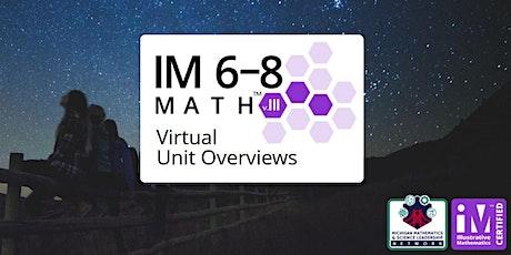 Illustrative Mathematics IM 6-8 Math – Virtual Unit Overviews tickets