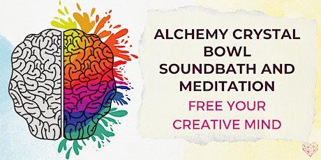 Artists' Meditation and Soundbath tickets