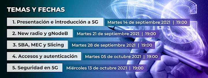 Imagen de 5G y ciberseguridad en 5 sesiones formativas