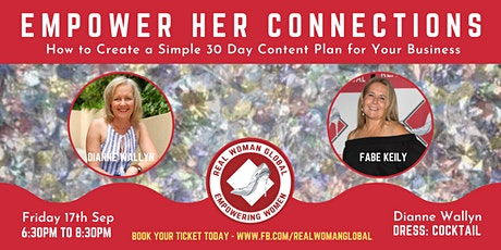 EMPOWER HER CONNECTIONS - Network & Learn tickets