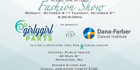 Fashion Show to benefit Girly Girl Parts/Dana Farber Cancer Institute tickets