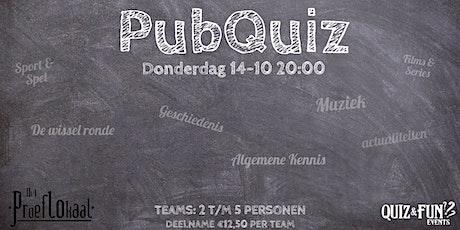 PubQuiz oktober | Waalwijk tickets