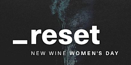 RESET Worcester - New Wine Women's Day tickets