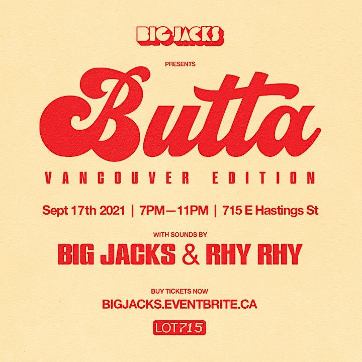 Big Jacks'  Butta Party - Vancouver Edition 2021 image