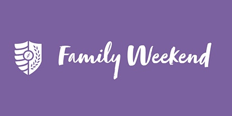 Family Weekend Registration tickets