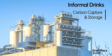 Informal Drinks - Carbon Capture and Storage (CCS) tickets