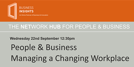 People & Business – Managing a Changing Workplace tickets