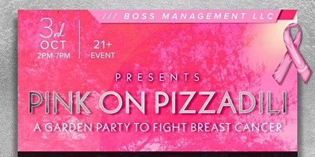 Pink on Pizzadili: A Garden Party to Fight Breast Cancer tickets