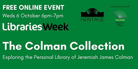 The Colman Collection tickets
