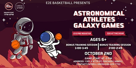 Astronomical Athletes Galaxy Games tickets