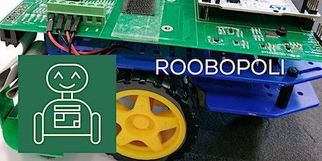 Roobopoli - Laboratorio di programmazione di veicoli a guida autonoma biglietti