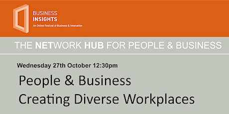 People & Business - Creating Diverse Workplaces tickets