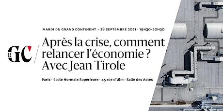 Après la crise, comment relancer l'économie ? Avec Jean Tirole billets