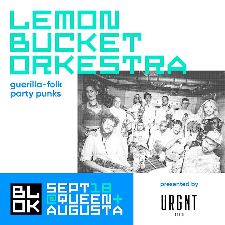 OUTDOOR BLOK PARTY @ BLOK: SLAVIC MUSIC MEET feat. Lemon Bucket Orkestra image