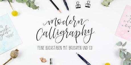 Workshop: Moderne Kalligrafie mit dem Brushpen Tickets
