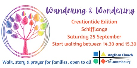 Wandering & Wondering Walk: Creationtide Edition tickets