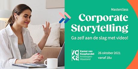 Corporate Storytelling - Zelf aan de slag met video! tickets