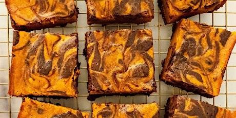 UBS - Virtual Cooking Class: Pumpkin Chocolate Brownies tickets