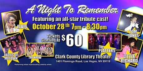 A Night To Remember...The concert that never happened UNTIL NOW! tickets