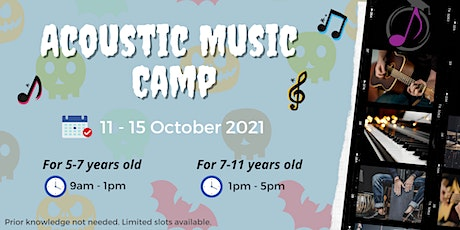 October Acoustic Music Camp (for 5-7 years old) tickets