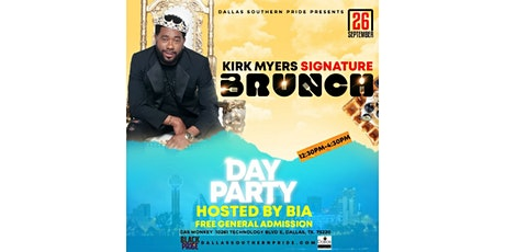 Kirk Myers Signature Brunch | Pride Edition tickets