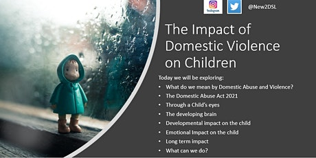 The impact of domestic violence on children and the Domestic Abuse Act 2021 tickets