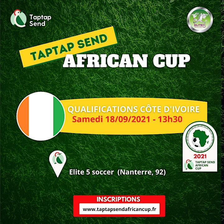 Image pour Qualifications Côte d'Ivoire - TAPTAP SEND AFRICAN CUP