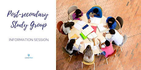 Post-Secondary Study Group Information Session tickets