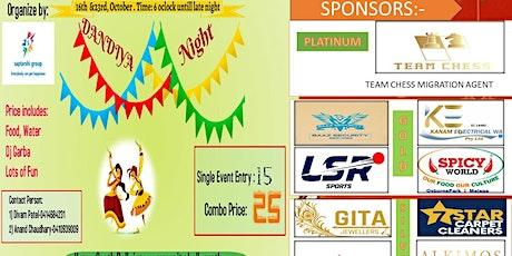 Dandiya night tickets